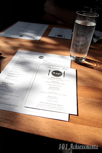 Summer 2013 Restaurant Week - Up! Modern Kitchen