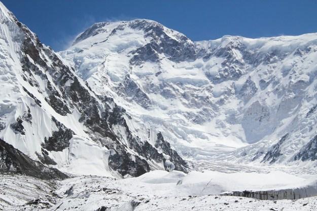 Peak Pobeda. South Inylchek Glacier Trek