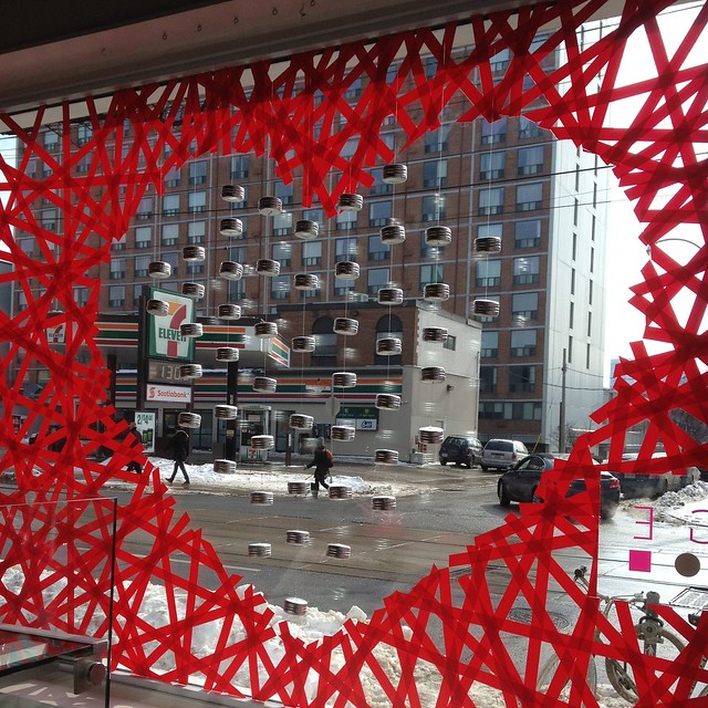 Crafty Toronto Nadege Valentine Windows