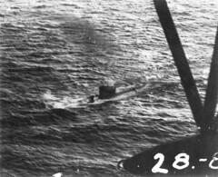 U-159 Shortly Before Sinking: 1943