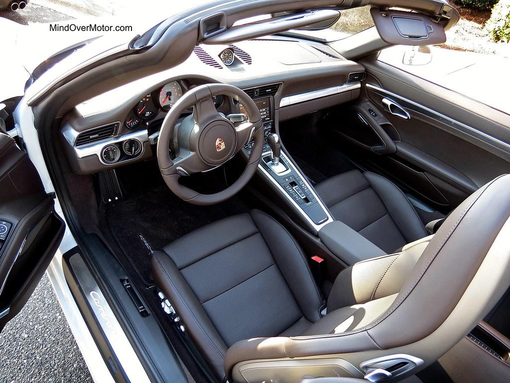 2014 Porsche 991 Carrera 4S Cabriolet interior