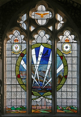 War memorial window, Warboys by TheRevSteve