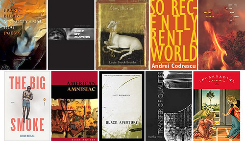 2013 NATIONAL BOOK AWARD LONGLIST FOR POETRY