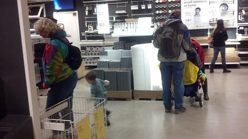 January 25 - Sagan Runs Through IKEA