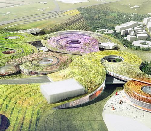 Europa city:  Mega-proyecto de arquitectura verde y sostenible