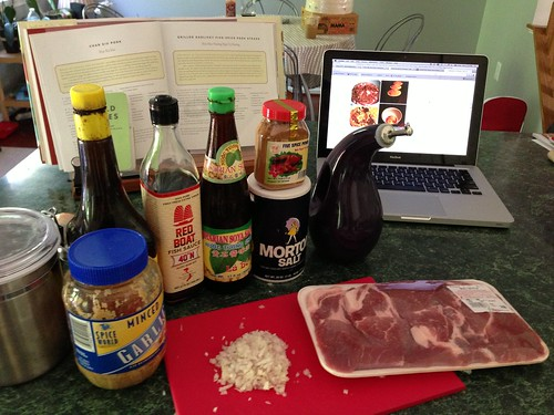 Pork marinade ingredients