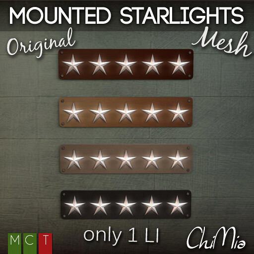 ChiMia __ Mounted Starlights @ The Deck