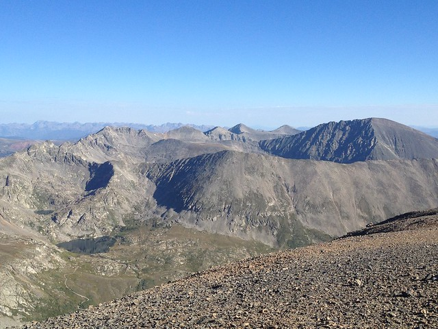 Ten Mile Range from the Summit of Mt. Cameron, Colorado