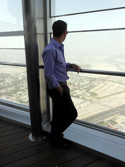 Burj Khalifa view in Dubai, UAE