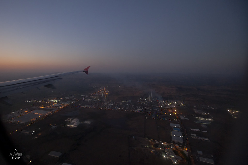 Descent into Aurangabad