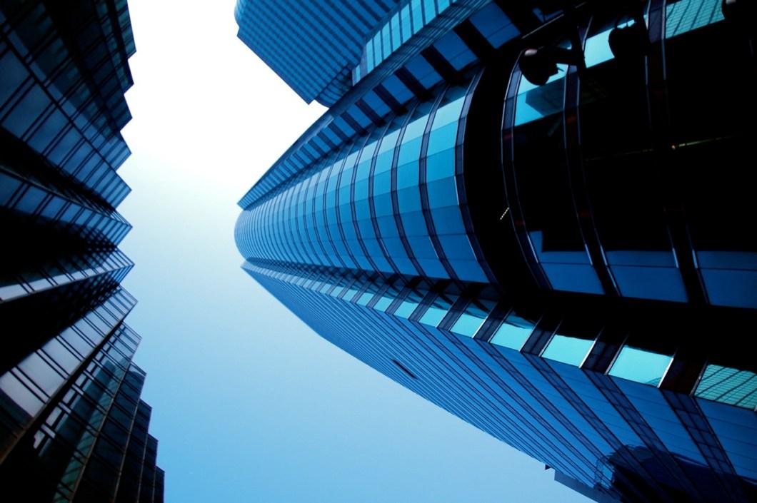 Imagen gratis de edificios en contrapicado