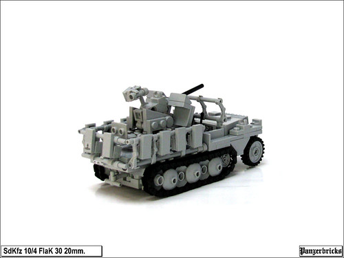 SdKfz 10/4 FlaK 30 20mm. de Panzerbricks
