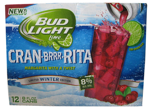 Bud Light Lime Limited Winter Edition Cran-Brrr-Rita Case