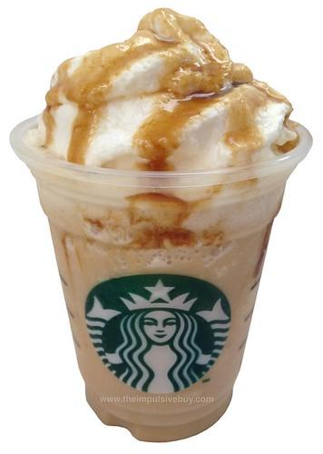 Starbucks Caramel Flan Frappuccino