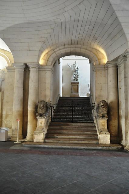 Les Cryptoportiques Entrance, Arles, France, Sept. 2013