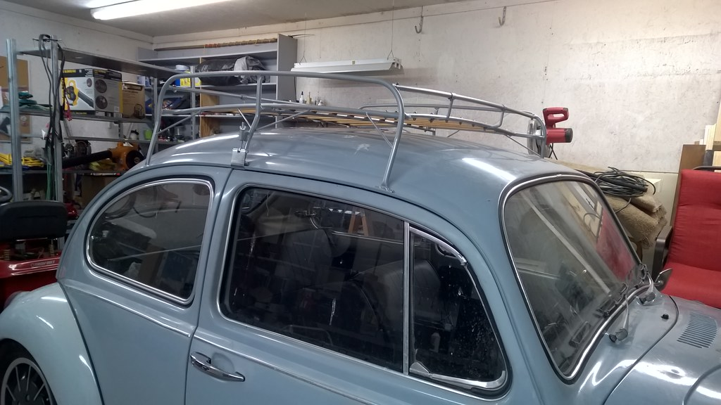 Roof Rack Build