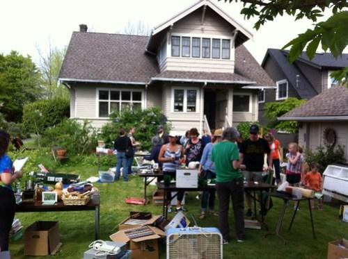 West Seattle yard sale