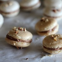 An Attempt: Hazelnut Macarons with Chocolate Buttercream Filling