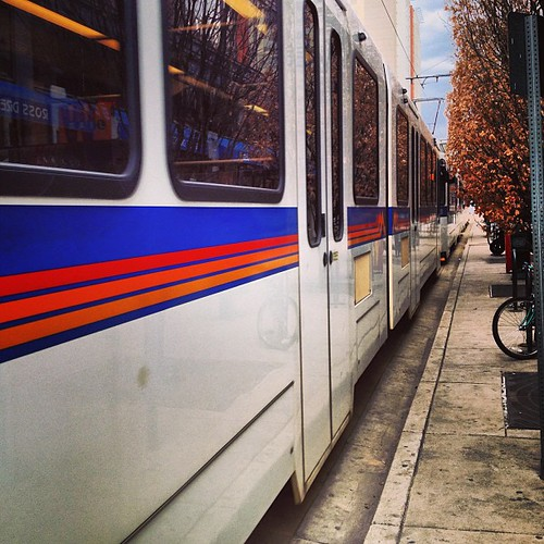 #denver #lightrail by @MySoDotCom