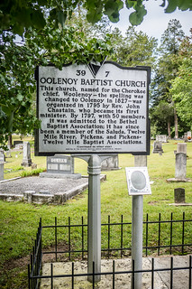 Oolenoy Baptist Church and Cemetery-001
