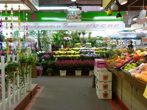 Marché des Batignolles flowers