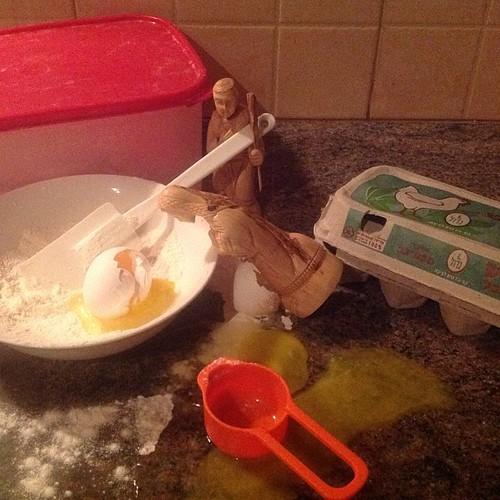 Day 10 - Mary and Joseph bake. by nikki.j.thorpe
