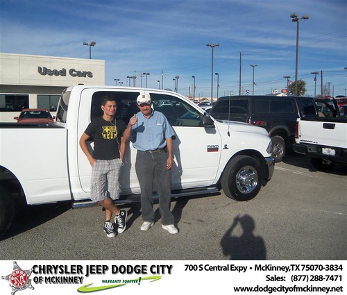 Happy Birthday to Juan Serrano from Joe Vasquez  and everyone at Dodge City of McKinney! #BDay - Copy by Dodge City McKinney Texas