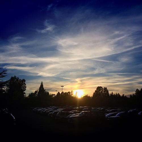 #sunset from Bellingham WA by @MySoDotCom