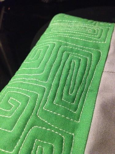 FMQ Pot Cozy Green