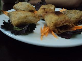 fried pancake things at net hue