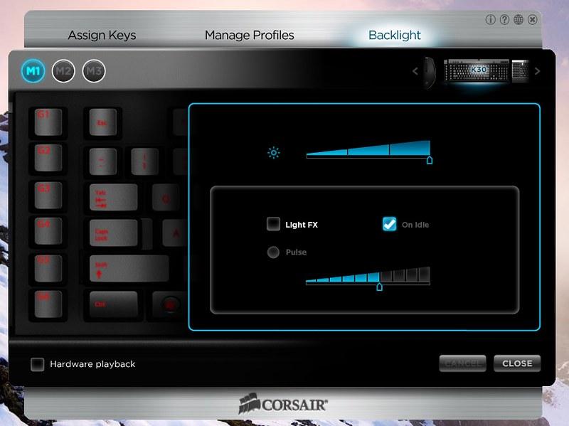 Corsair Raptor K30 and K50 Gaming Keyboards 22