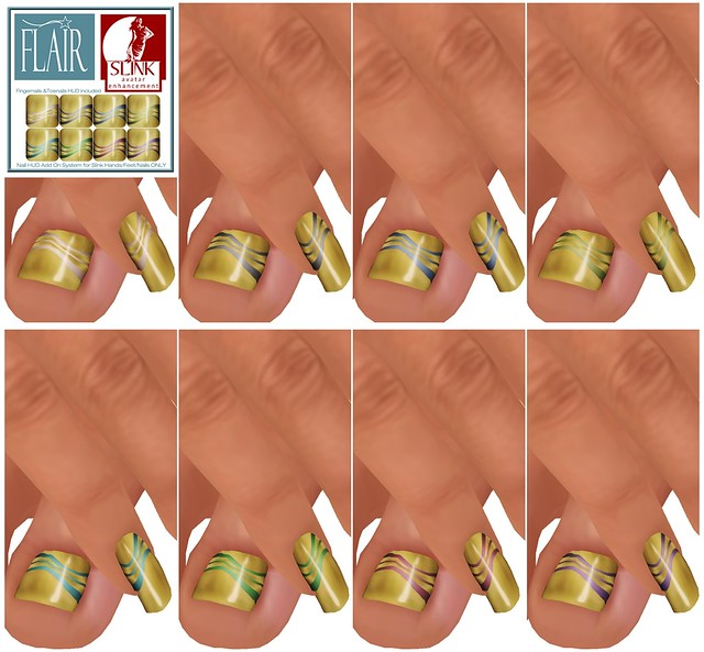 Flair - Nails Set 64