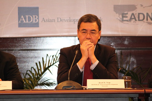 Josef T. Yap, Philippine Institute for Development Studies (PIDS)