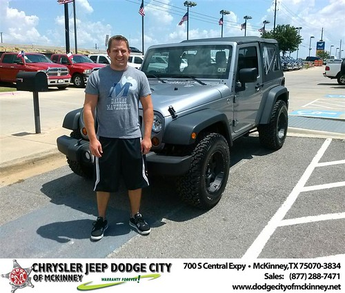 Thank you to Charles Toth on the 2013  from David Walls and everyone at Dodge City of McKinney! by Dodge City McKinney Texas