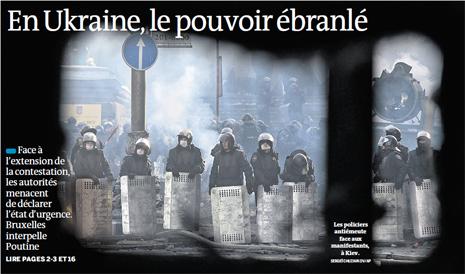14a27 LMonde Crisis Ucrania 27 y 28 enero 2014