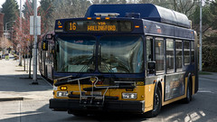 A MT 16 arrives at the Northgate TC fresh from Wallingford