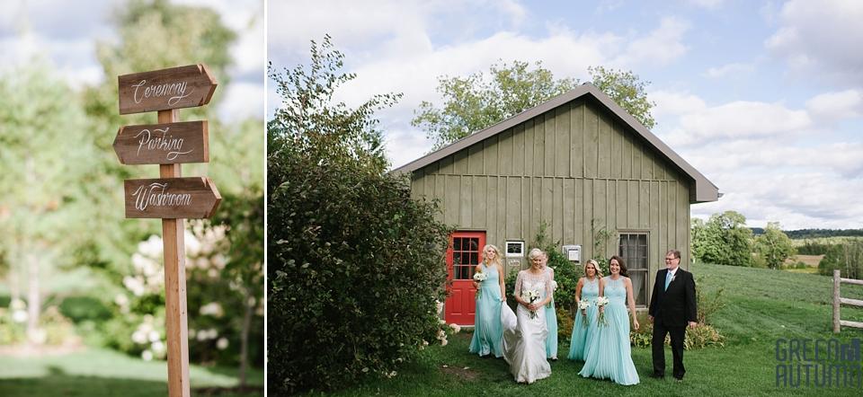 Autumn South Pond Farms Wedding Photography 0038