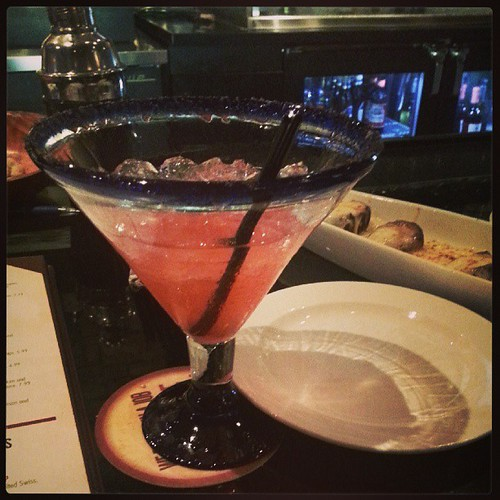 A celebratory Watermelon Margarita. Just one :)