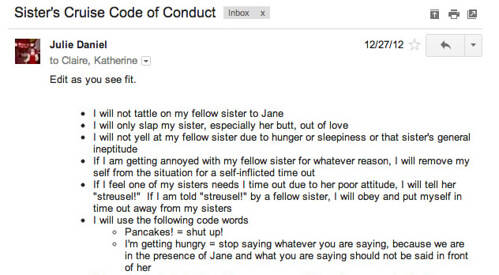cruise code of conduct
