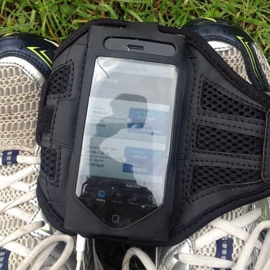 5.45 km in 26:27 (pace 4:51 per km) #runtastic