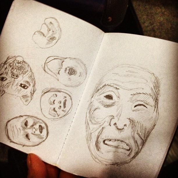 expo de máscaras japonesas