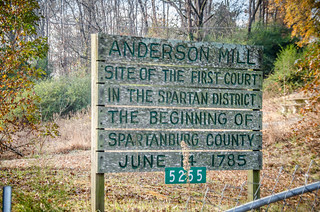 Anderson Mill Sign