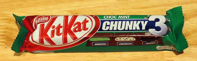 Kit Kat Choc Mint Chunky 3 (Australia)