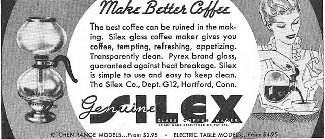 Silex 1936 Ad