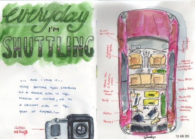 18-2013 // shuttling
