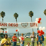 SD Walks for Life 1986-87