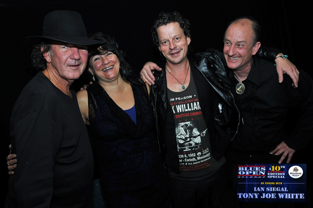 10th Edition Blues Open Festival - Special with Tony Joe White & Ian Siegal