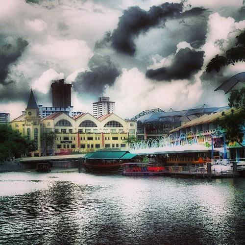 Clarke Quay #singapore by @MySoDotCom