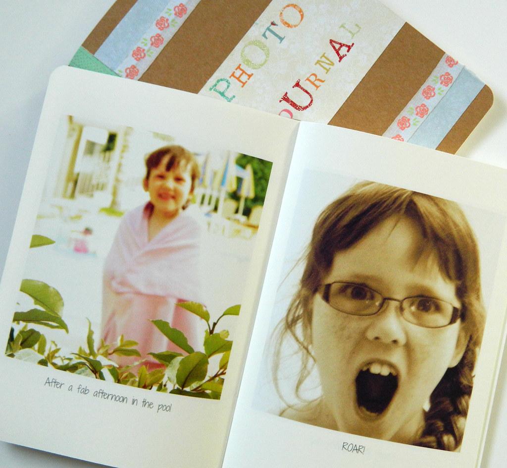 Photo journal inside