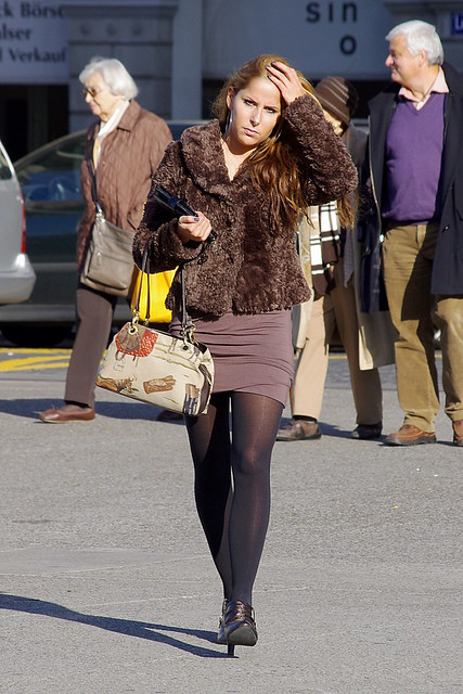 Flickr The Street Pantyhose Candids Pool